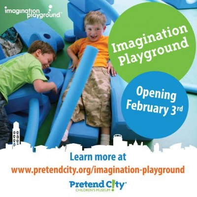 Imagination Playground Grand Opening